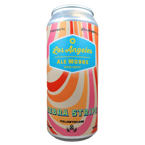 LA Ale Works Zebra Stripe Milkshake IPA Can