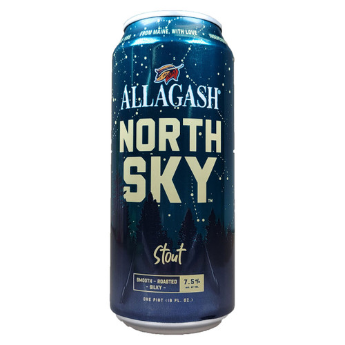 Allagash North Sky Stout Can