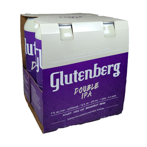Glutenberg Gluten Free Double IPA 4-Pack Can