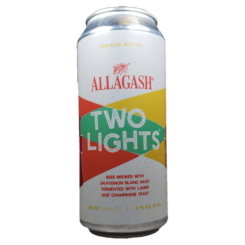Allagash Two Lights Champagne Lager Can