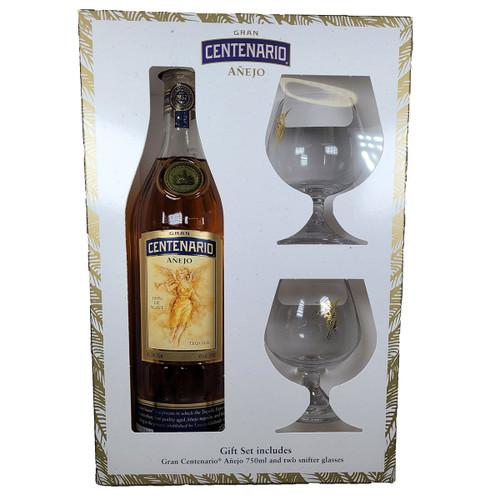 Gran Centenario Anejo Gift Pack w/ 2 Glasses