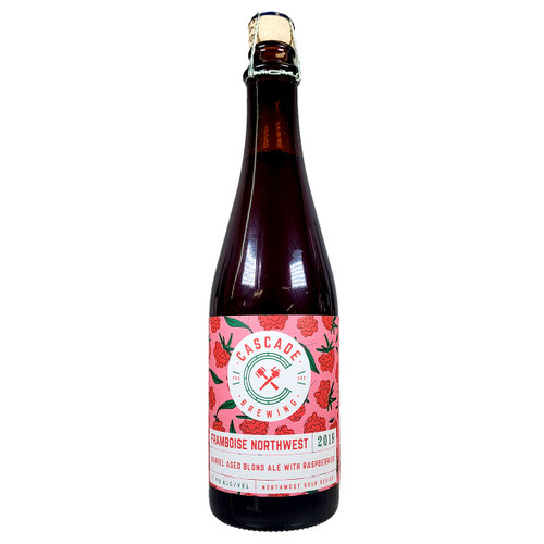 Cascade Framboise Northwest 2019 Barrel Aged Raspberry Blonde