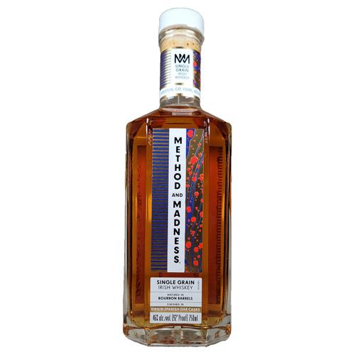 Method & Madness Virgin Spanish Oak Cask Finished Single Grain Irish Whiskey