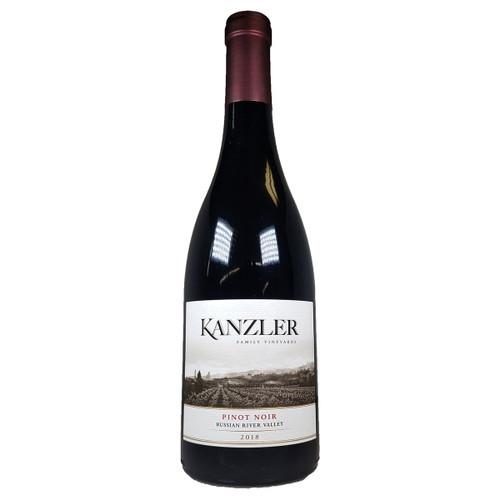 Kanzler 2018 Russian River Valley Pinot Noir