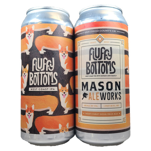 Mason Ale Works Fluffy Bottoms West Coast IPA Can