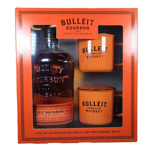 Bulleit Bourbon Gift Pack with Mugs