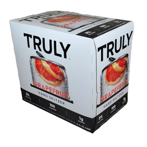 Truly Hard Seltzer Grapefruit 6-Pack Can
