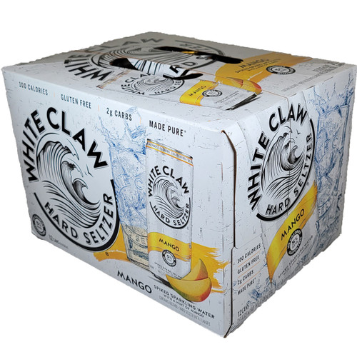 White Claw Mango Hard Seltzer 12-Pack Can