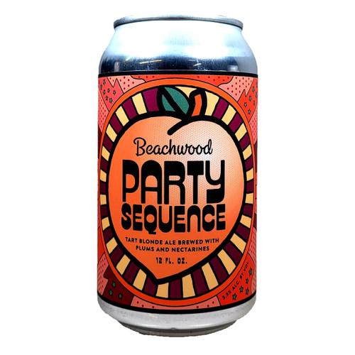 Beachwood Party Sequence Tart Blonde Ale with Plums and Nectarines Can