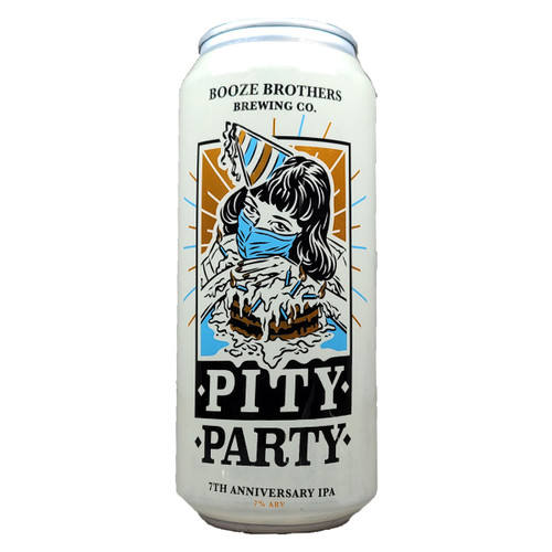 Booze Brothers Pity Party 7th Anniversary IPA Can
