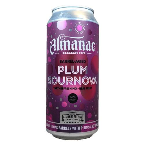 Almanac Barrel-Aged Plum Sournova Can
