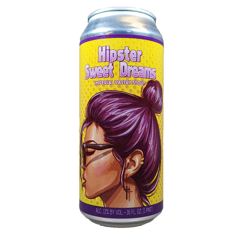Wild Barrel Hipster Sweet Dreams Imperial Pastry Stout Can