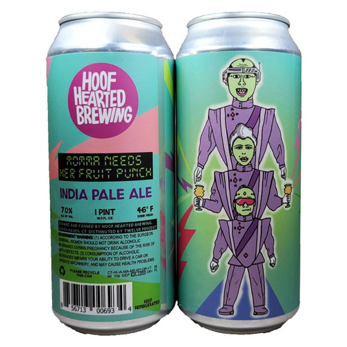 Hoof Hearted Momma Needs Her Fruit Punch IPA Can