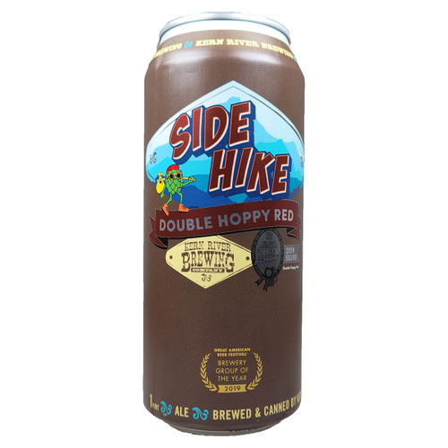 Kern River Side Hike Double Hoppy Red Can