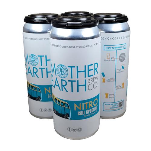 Mother Earth Nitro Cali Creamin' Vanilla Cream Ale  4-Pack Can