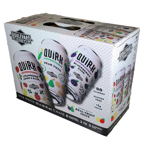 Quirk Mix Pack Spiked & Sparkling Seltzer 12-Pack Can