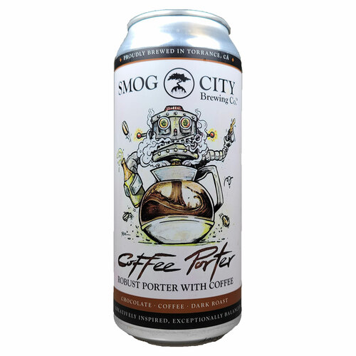 Smog City Coffee Porter Can
