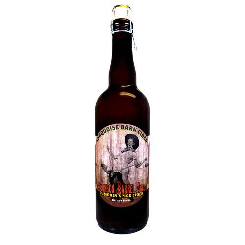 Turquoise Barn Bourbon Barrel Aged Pumpkin Spice Cider