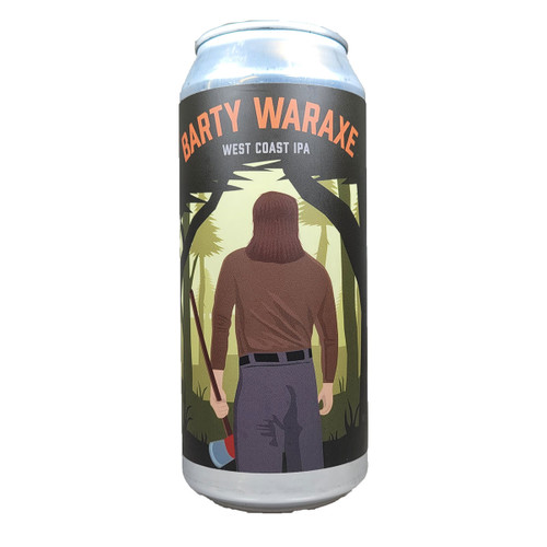 Mason Ale Works Barty Waraxe West Coast IPA Can