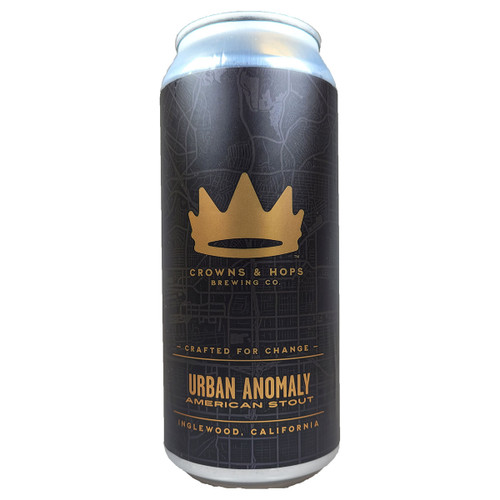 Crowns & Hops Urban Anomaly American Stout Can