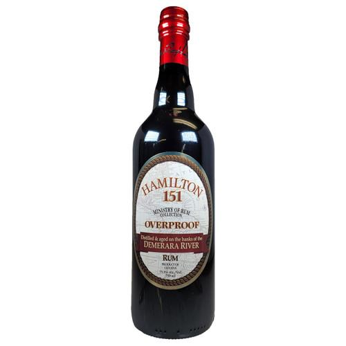 Hamilton Demerara Overproof 151 Rum