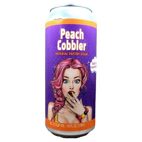 Wild Barrel Peach Cobbler Imperial Pastry Sour Can