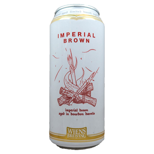 Wiens Barrel Aged Imperial Brown Can