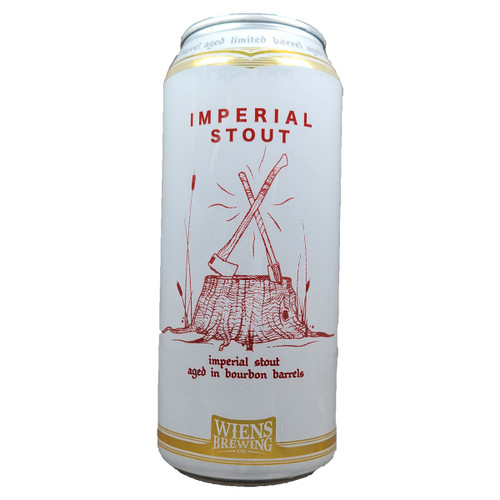 Wiens Barrel Aged Imperial Stout Can