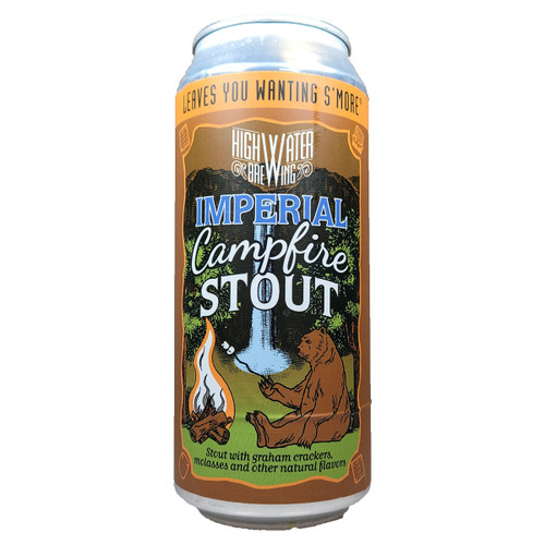 High Water Imperial Campfire Stout Can