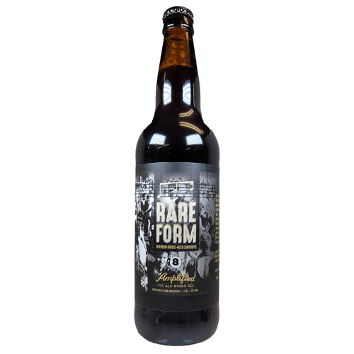 Amplified Rare Form Bourbon Barrel-Aged Quadrupel 2020