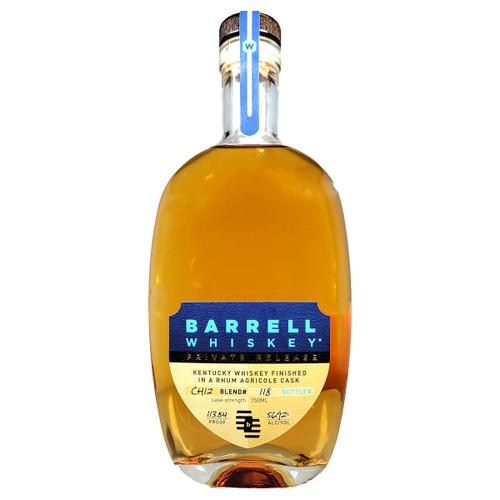 Barrell Whiskey Rhum Agricole Cask CH12