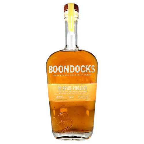 Boondocks The Spice Project 11 Year American Whiskey