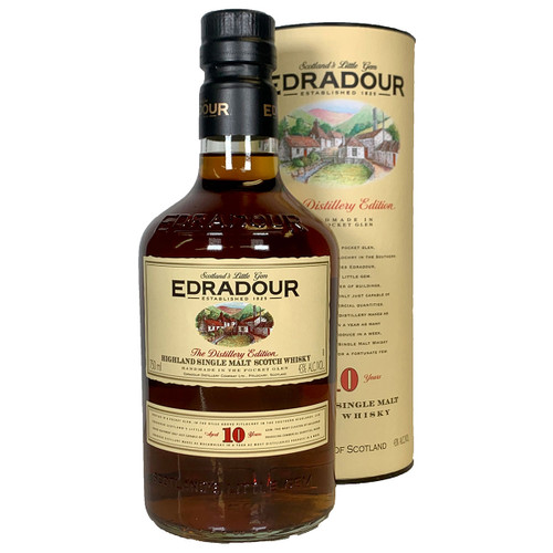 Edradour 10 Year Highland Single Malt Scotch