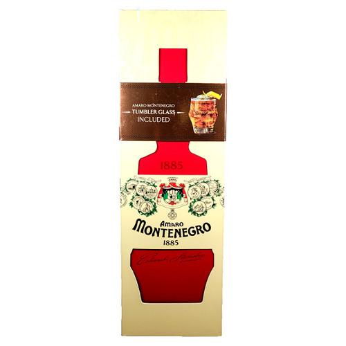 Montenegro Amaro Gift Box With Glass