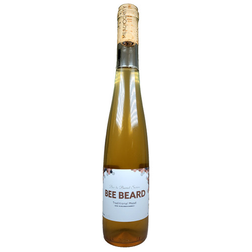 Meadiocrity Bee Beard Traditional Mead Aged in Bourbon Barrels