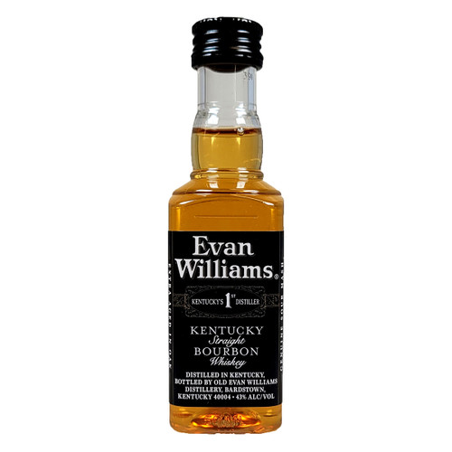 Evan Williams Black Label Kentucky Straight Bourbon Whiskey 50ml