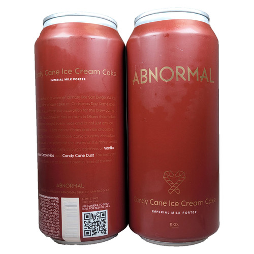 Abnormal Candy Cane Ice Cream Cake Imperial Milk Porter Can