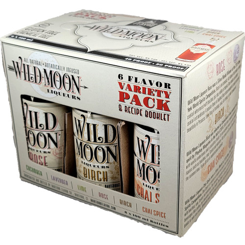 Wild Moon 6 Pack Variety Liqueur 100ML