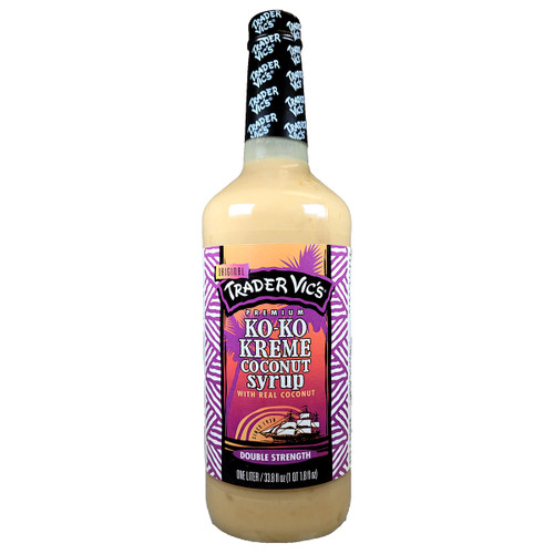 Trader Vic's Ko-Ko Kreme Syrup 1.0L