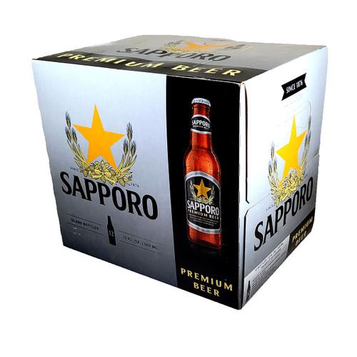 Sapporo Premium Beer 12-Pack