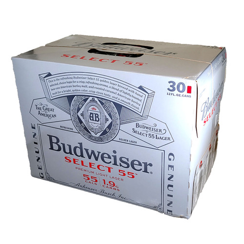 Budweiser Select 55 30-Pack Can