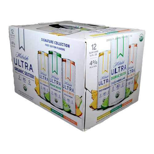 Michelob Ultra Organic Seltzer Signature Collection First Edition 12-Pack Can