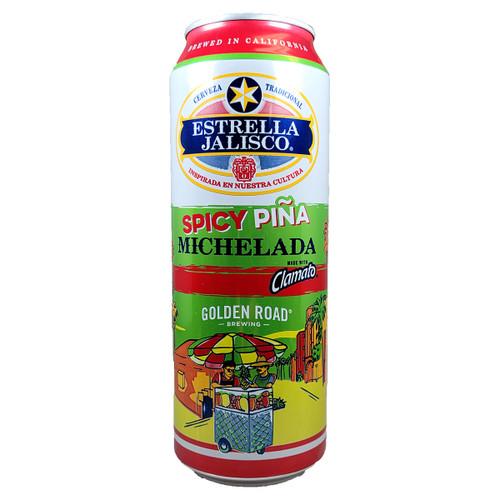 Estrella Jalisco / Golden Road Spicy Pina Michelada Can