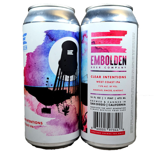 Embolden Clear Intentions West Coast IPA Can