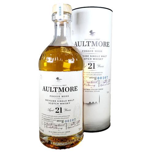 Aultmore 21 Year Single Malt Scotch Whisky