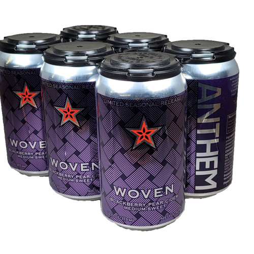 Anthem Hard Woven Cider 6-Pack Can