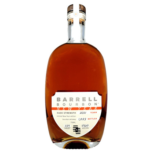 Barrell Bourbon 2021 Happy New Year