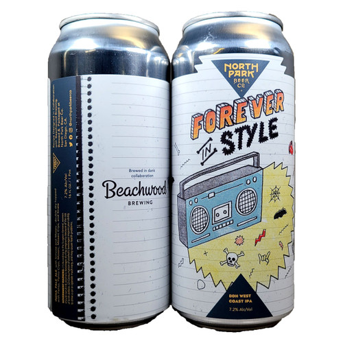 North Park / Beachwood Forever In Style DDH West Coast IPA Can