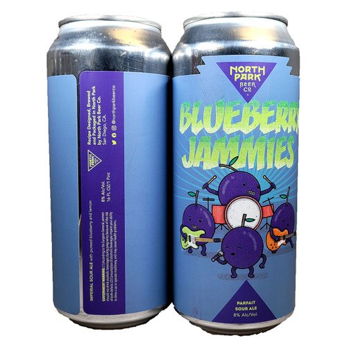 North Park Blueberry Jammies Parfait Sour Ale Can