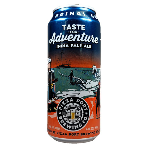 Pizza Port Taste For Adventure IPA Can